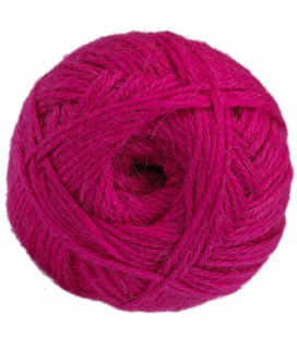 "Leuchtend rosa - ""Medium"" - 100% Baby Lama - 100 gr./200 mt."