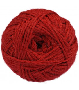 Rot - Bulky - Lama/Wolle - 100 gr./163 mt.