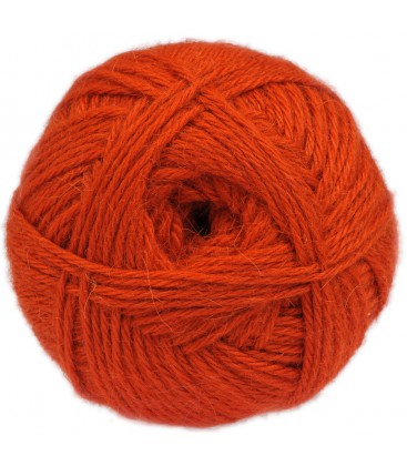 "Orange - ""Medium"" - 100% Baby Lama - 100 gr./200 mt."