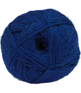 "Neonblau - ""Medium"" - 100% Baby Lama - 100 gr./200 mt."